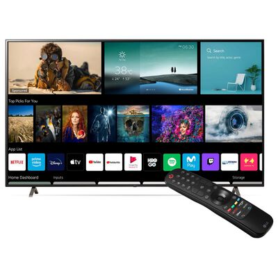 "Led Lg 86up8050psb / 86 "" / Ultra Hd / 4k / Smart Tv"