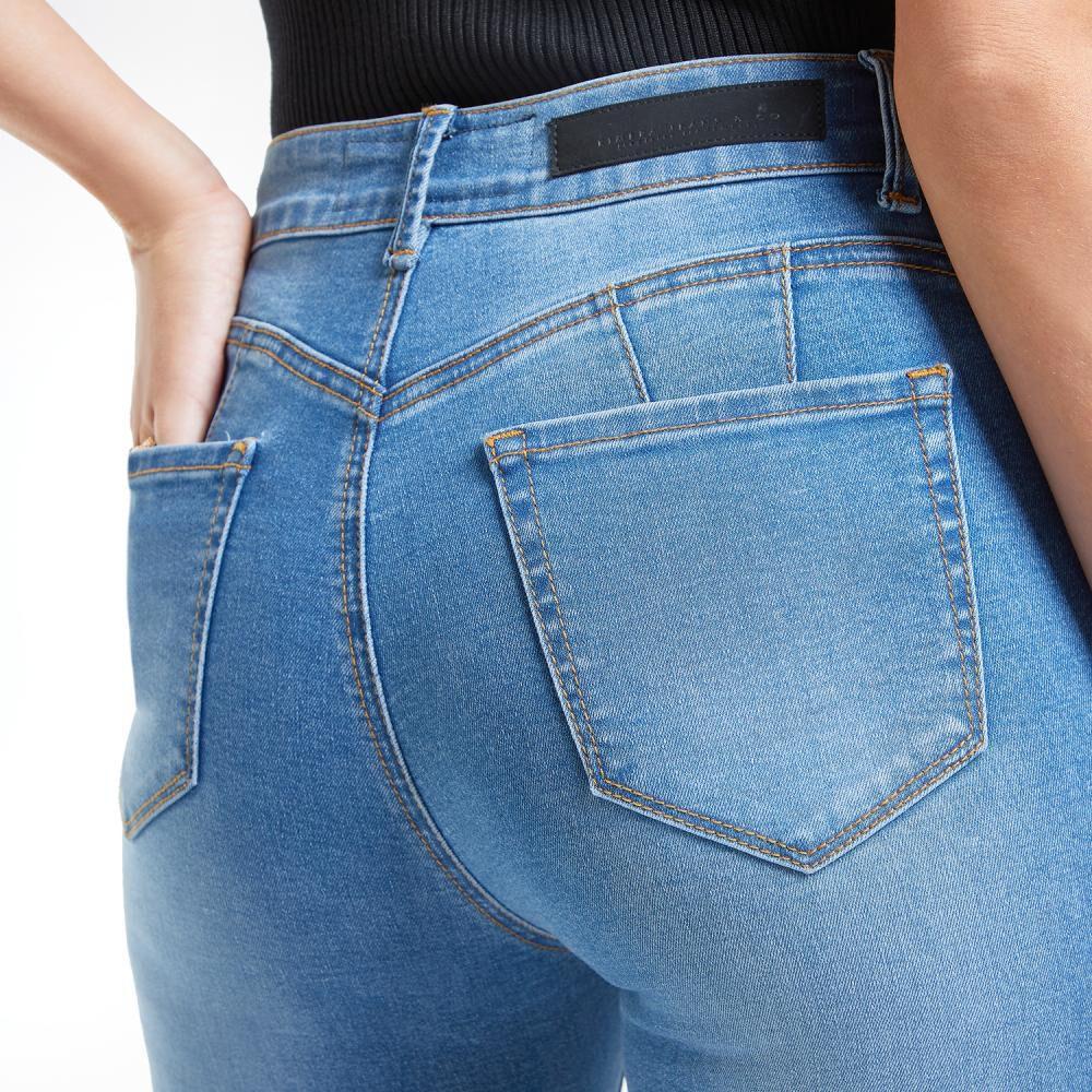 Jeans Mujer Tiro Alto Skinny Push Up Kimera image number 4.0