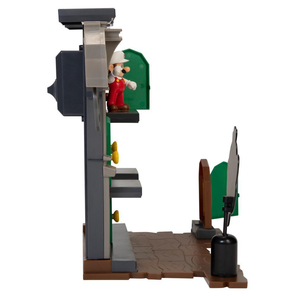 Figura Coleccionable Nintendo Playset Super Mario Dlx Boo Mansion image number 4.0