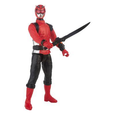 Figura De Acción Power Rangers Bmr Red Ranger