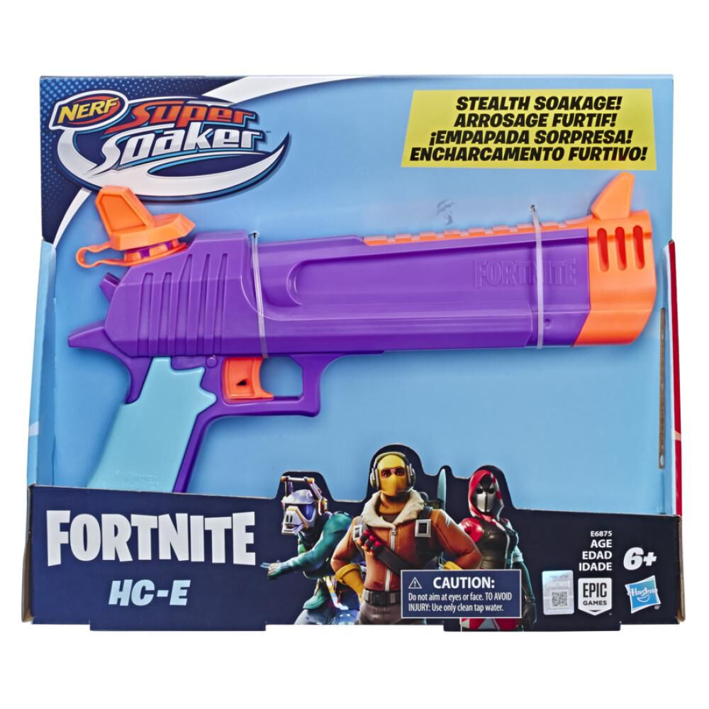 Pistolas De Juguete Super Soaker Fortnite Hc-E image number 1.0
