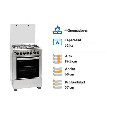 Cocina Sindelen CH-6900IN / 4 Quemadores