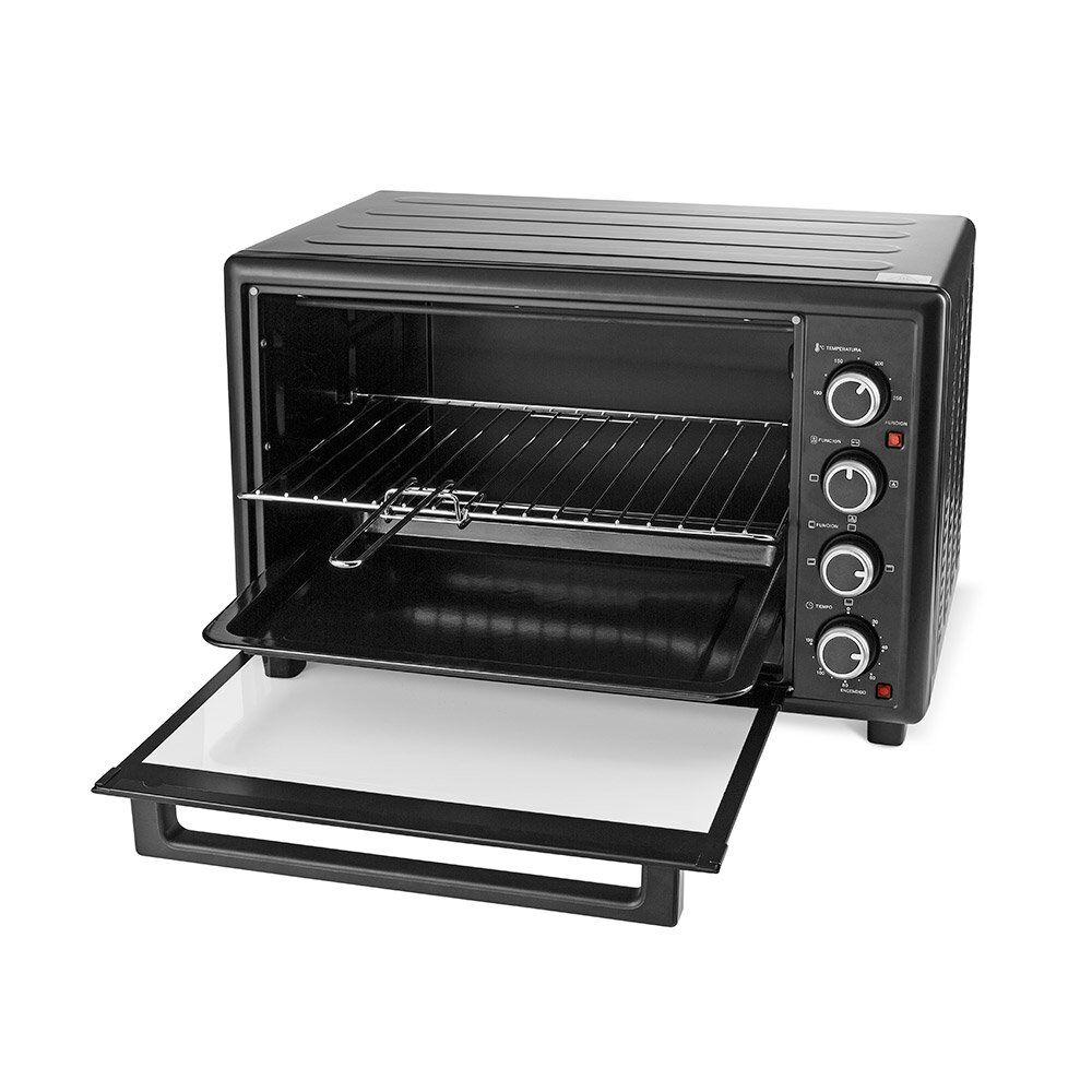 Horno Eléctrico Somela Black Oven To4601Bk / 46 Litros image number 1.0