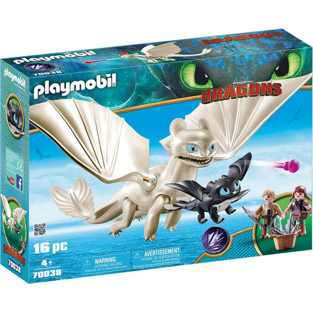 Figura De Acción Playmobil Set De Juego Furia Diurna image number 0.0