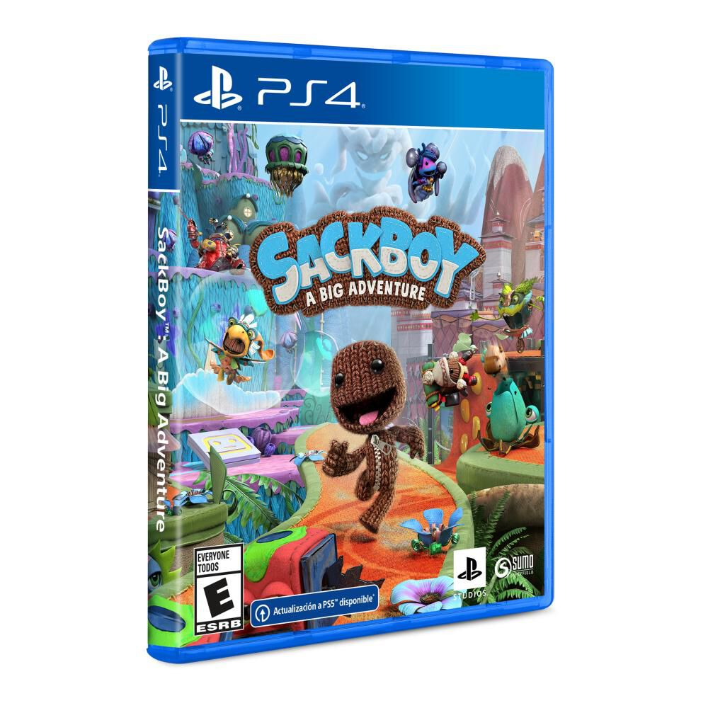 Videojuego Ps4 Sackboy A Big Adventure image number 1.0