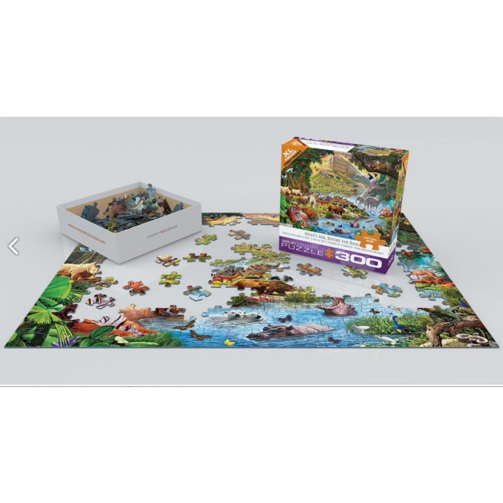 Puzzle Eurographics 8300-0980 Noah's Ark image number 0.0