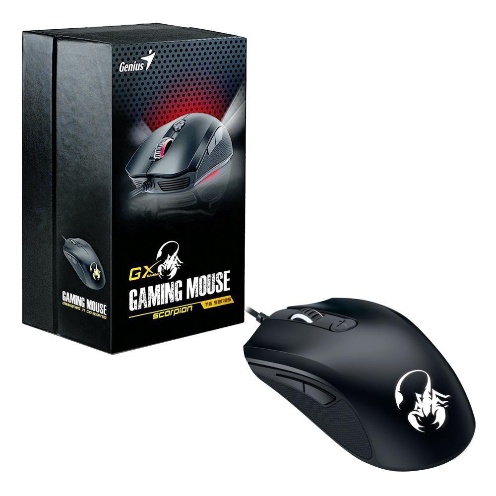 Mouse Gamer Genius Scorpion M6-400 image number 3.0