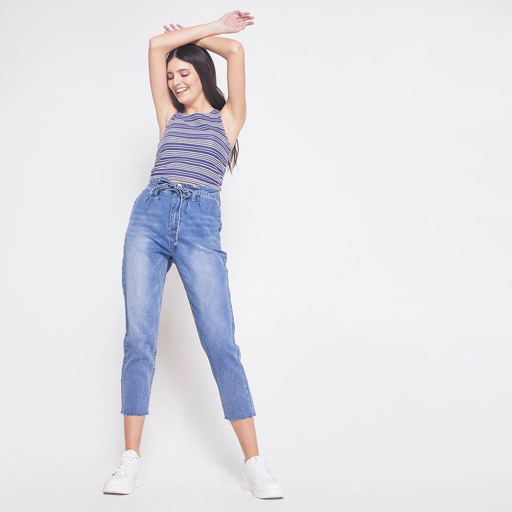 Jeans Tiro Alto Skinny Mujer Freedom image number 1.0