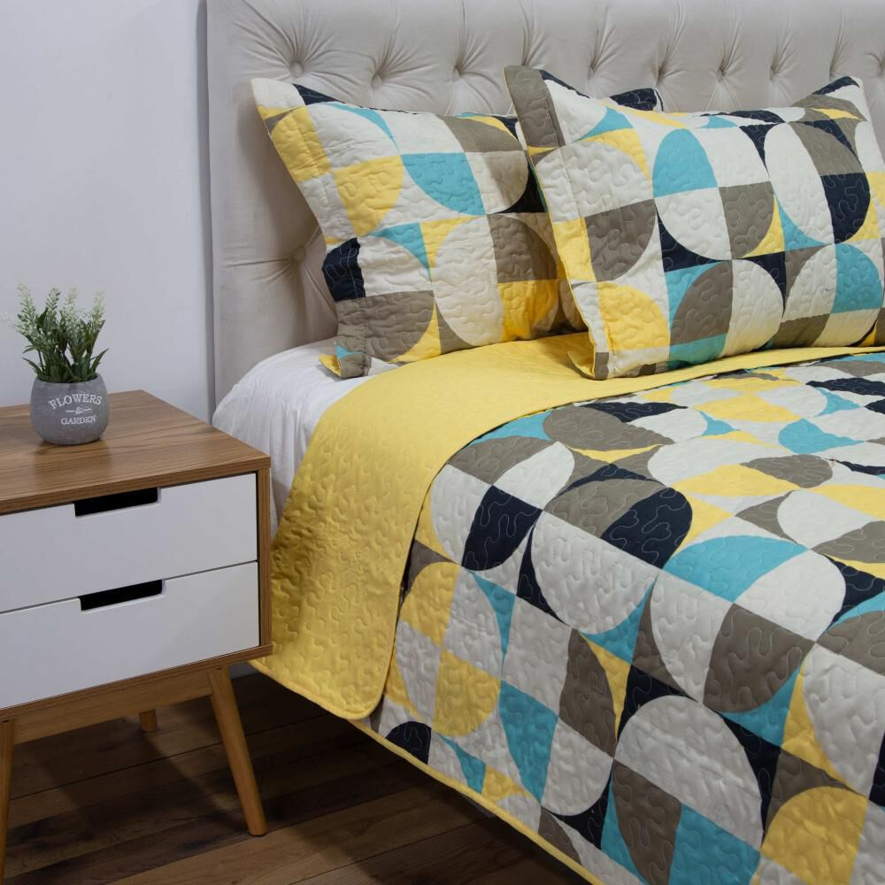 Quilt Azhome Circulo 2p / 2 Plazas image number 1.0