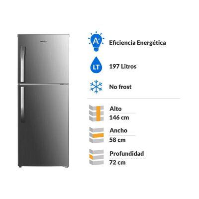 Refrigerador Top Freezer Winia TMF FRT-220 / No Frost  / 197 Litros
