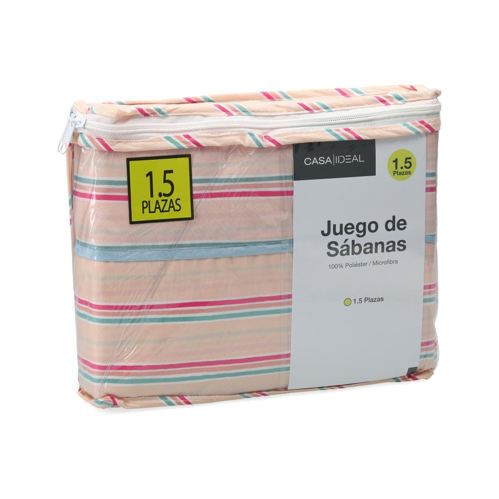 Juego De Sabanas Casaideal / 1.5 Plazas image number 3.0