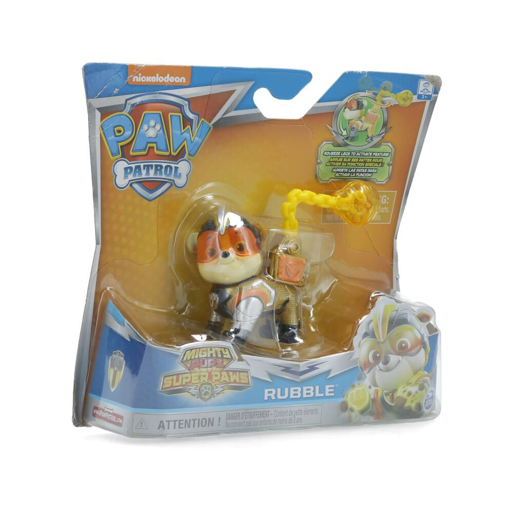 Figura De Accion Paw Patrol Heroes Mighty Rubble image number 1.0