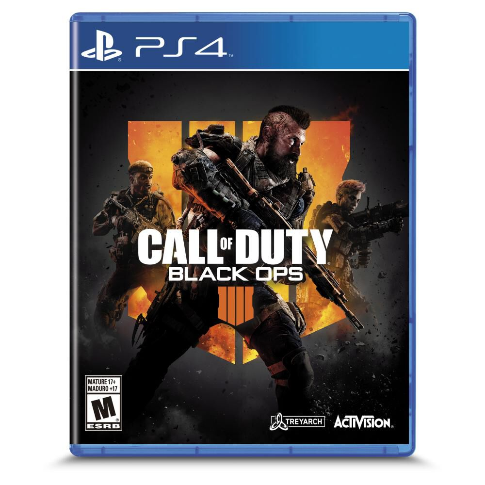 Juego Ps4 Call Of Duty Black Ops 4 image number 0.0