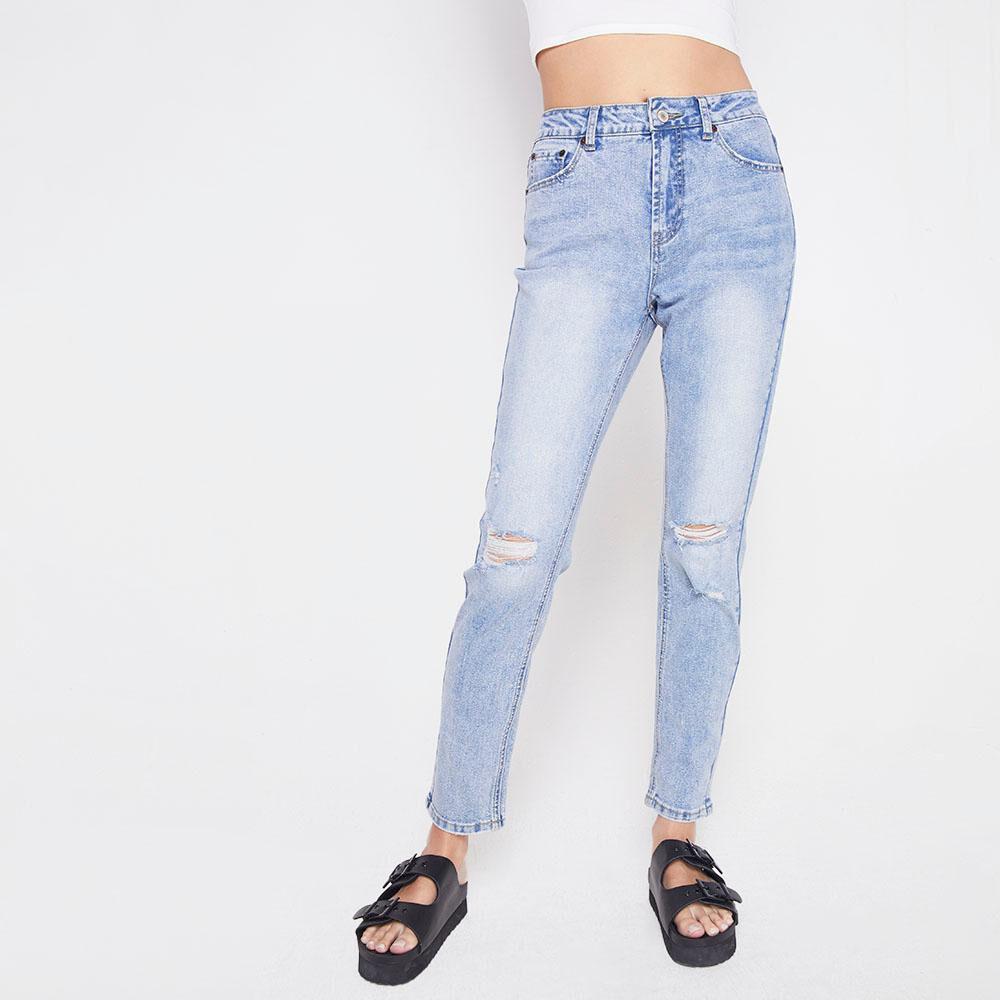 Jeans Tiro Alto Skinny Mujer Freedom image number 0.0