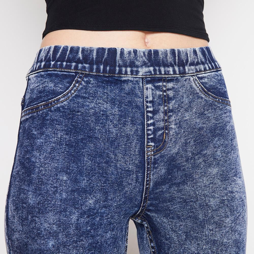 Jeans Mujer Tiro Alto Flare Freedom image number 3.0