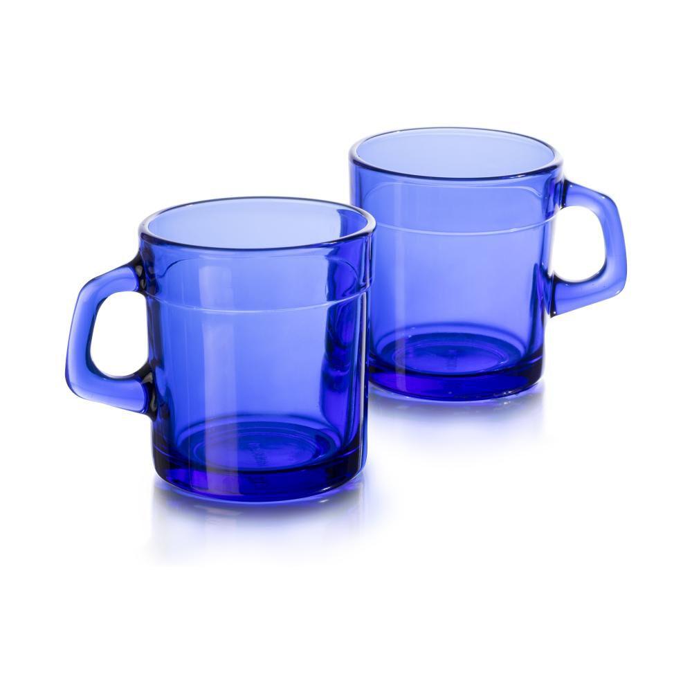 Set De Tazas Libbey Azul Mediterraneo / 4 Piezas image number 0.0
