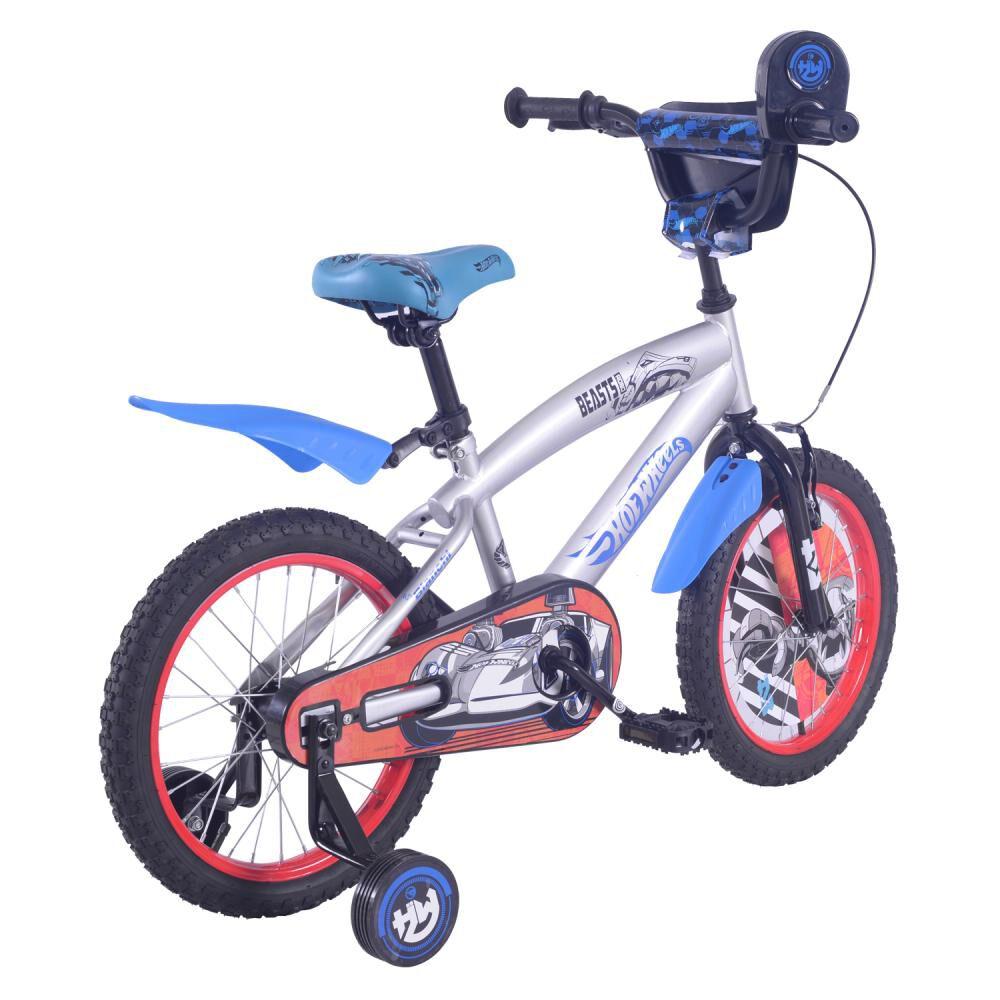 Bicicleta Infantil Bianchi Hot Wheels 16 / Aro 16 image number 2.0