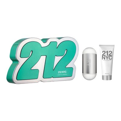 Perfume 212 + Body Lotion Carolina Herrera / 60 ml / Edt