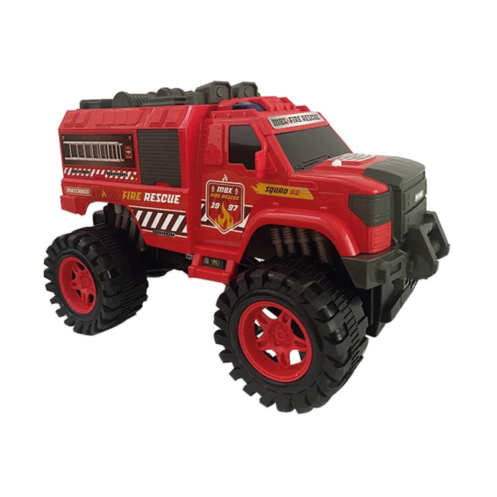 Auto De Juguete Match Box Fire & Rescue image number 0.0