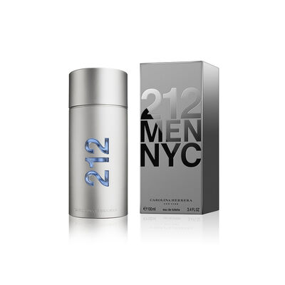 Perfume Carolina Herrera 212 Men Eau De Toilette / 100 Ml / Edt /