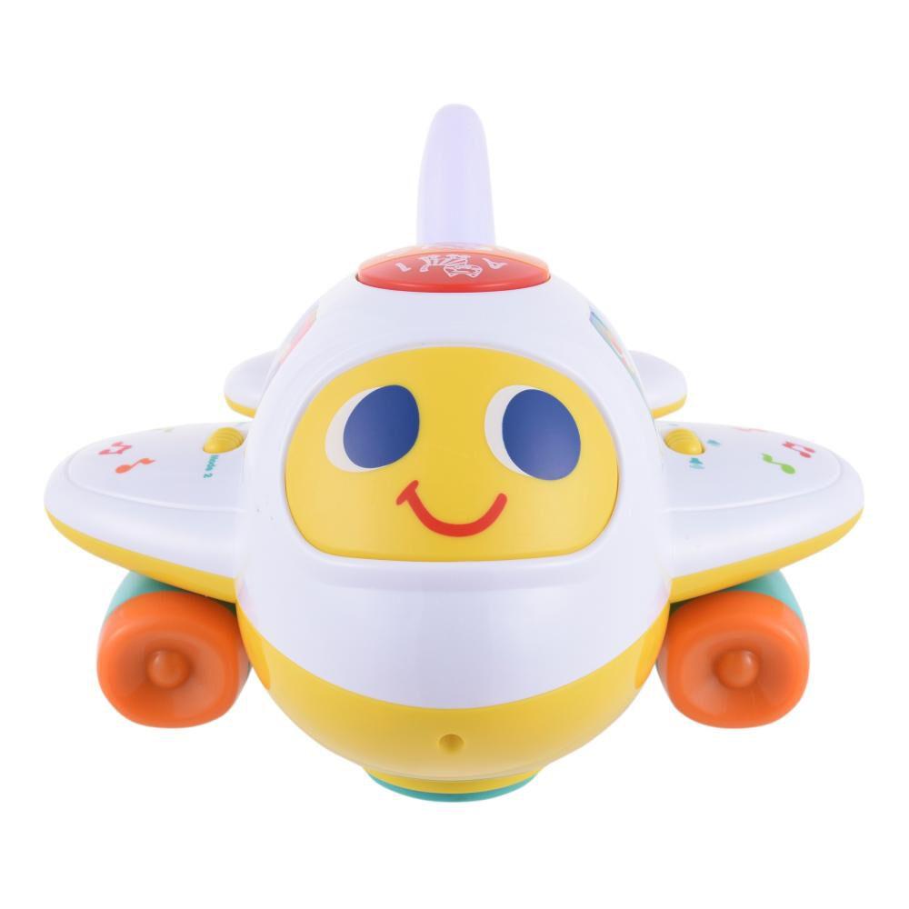 Avión Interactivo Baby Bump & Go image number 2.0