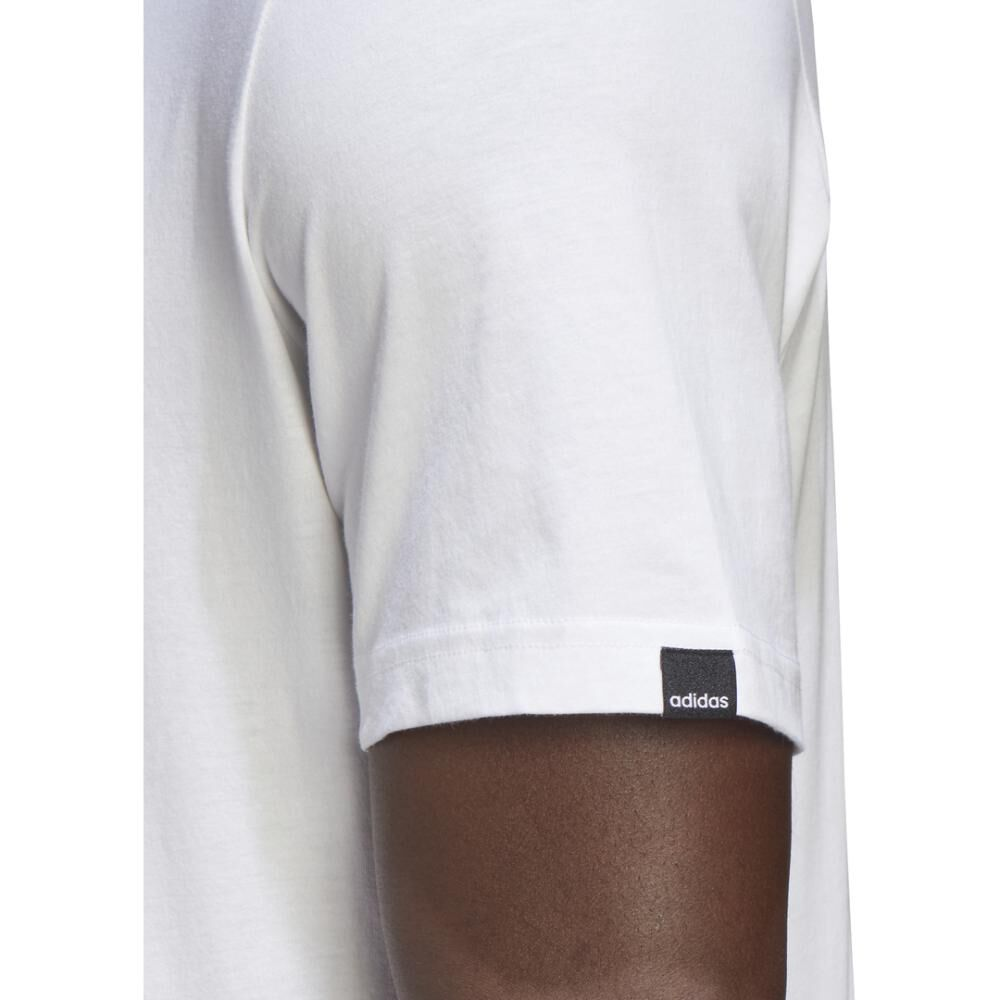 Polera Hombre Adidas M Hyperreal Dimension Tee image number 7.0