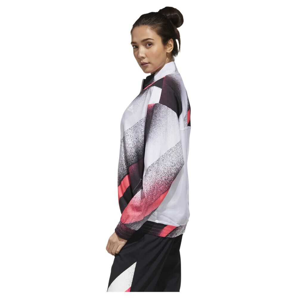 Polerón Deportivo Mujer Adidas Unleash Confidence Woven image number 7.0