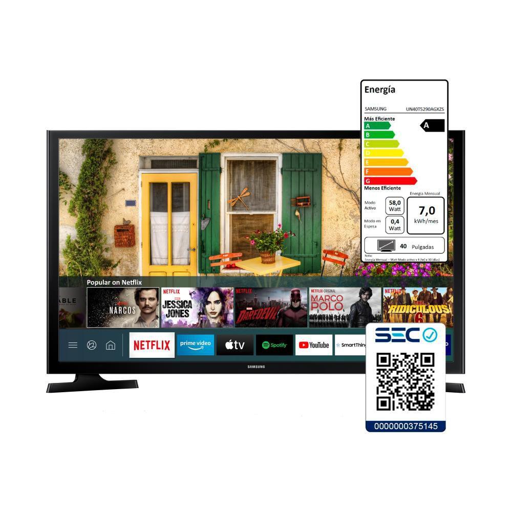 """Led Samsung T5290 / 40 """" / Full HD / Smart Tv image number 4.0"""