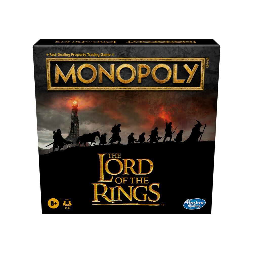 Juego De Mesa Monopoly The Lord Of The Rings image number 0.0