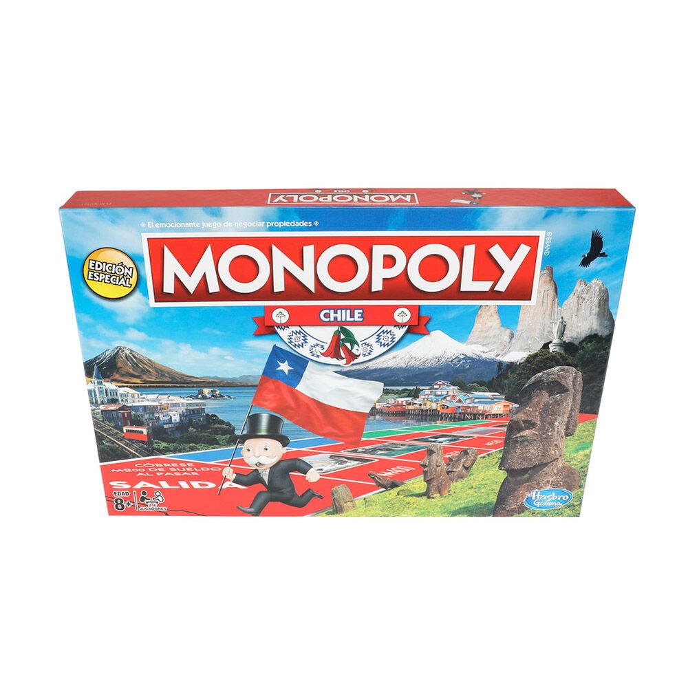 Juego De Mesa Monopoly Chile image number 0.0