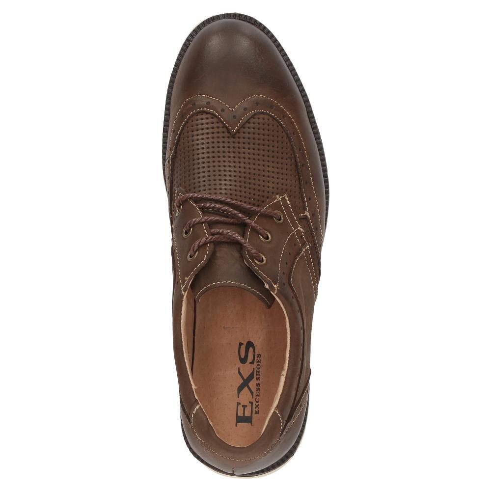 Zapato De Vestir Hombre Exs image number 3.0