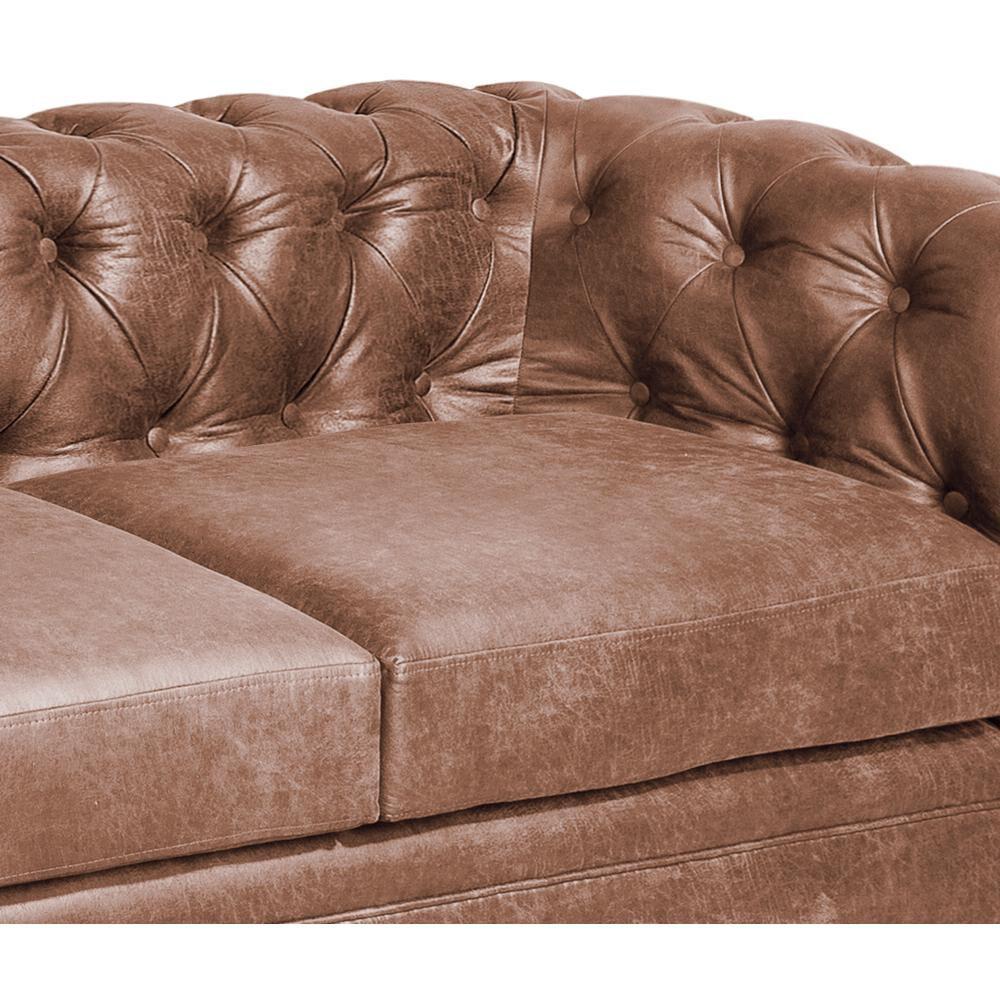 Sofa Mobel Home 3C Cuero / 3 Cuerpos image number 4.0