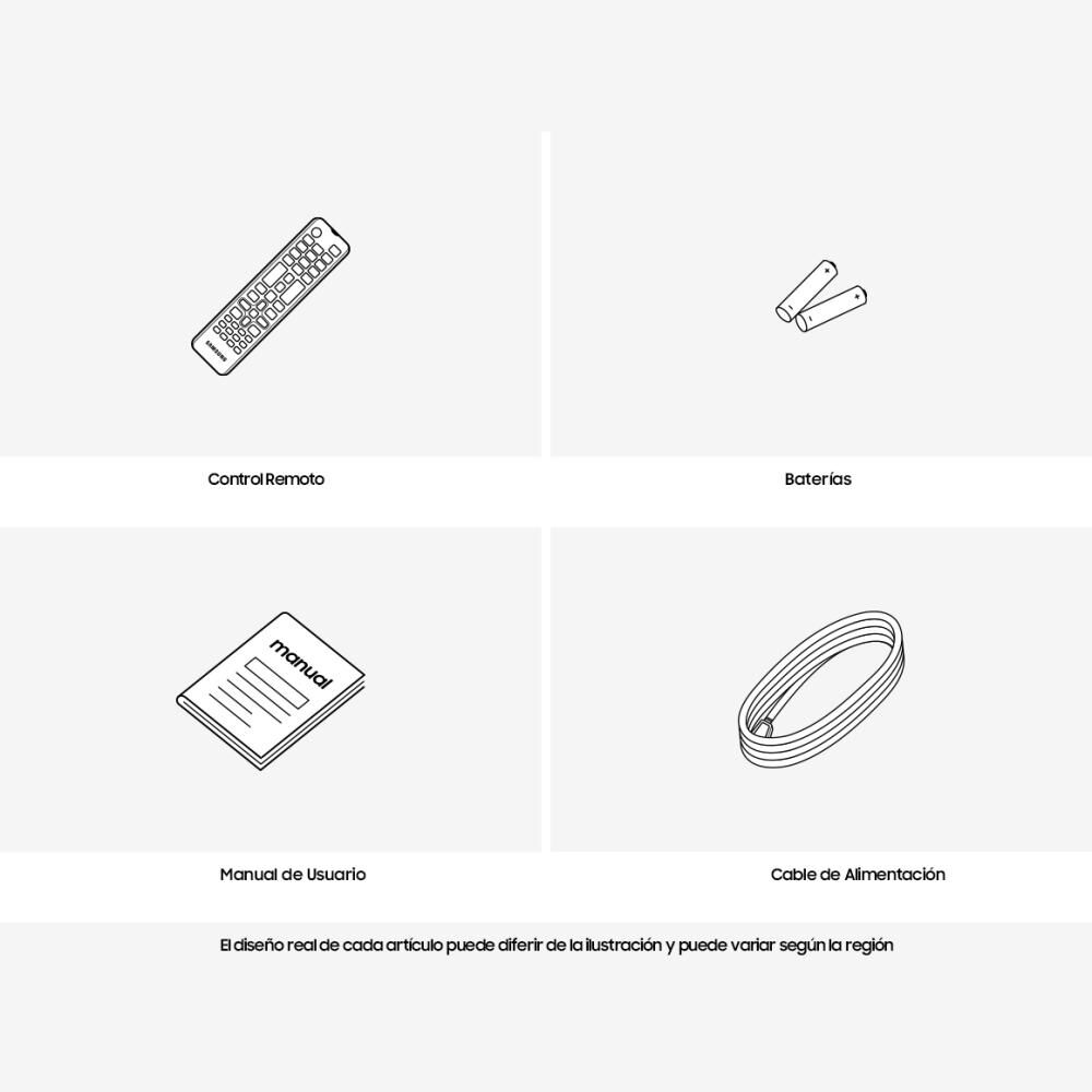 """Led Samsung TU7090 / 43"""" / Crystal Ultra Hd 4K /Smart Tv image number 6.0"""