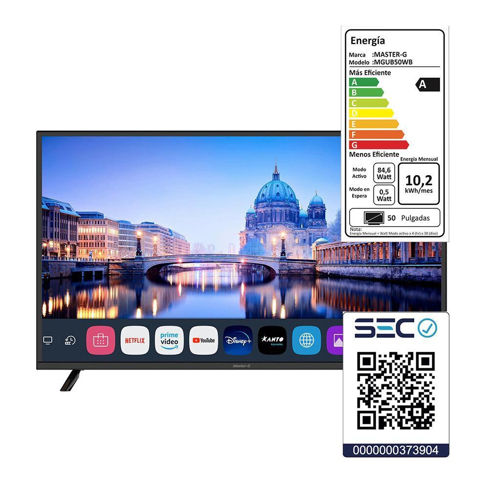 "Led Master G Mgub50wb / 50 "" / Ultra Hd / 4k / Smart Tv image number 5.0"