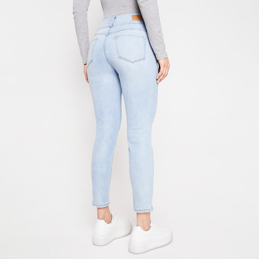 Jeans Mujer Tiro Alto Skinny Kimera image number 2.0