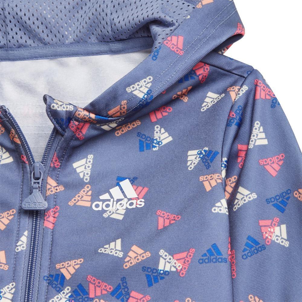Buzo Niña Adidas Future Icons Shiny Graphic image number 4.0