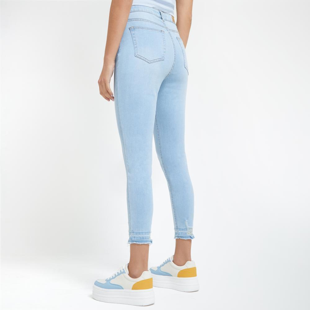 Jeans Mujer Tiro Alto Super Skinny Freedom image number 3.0