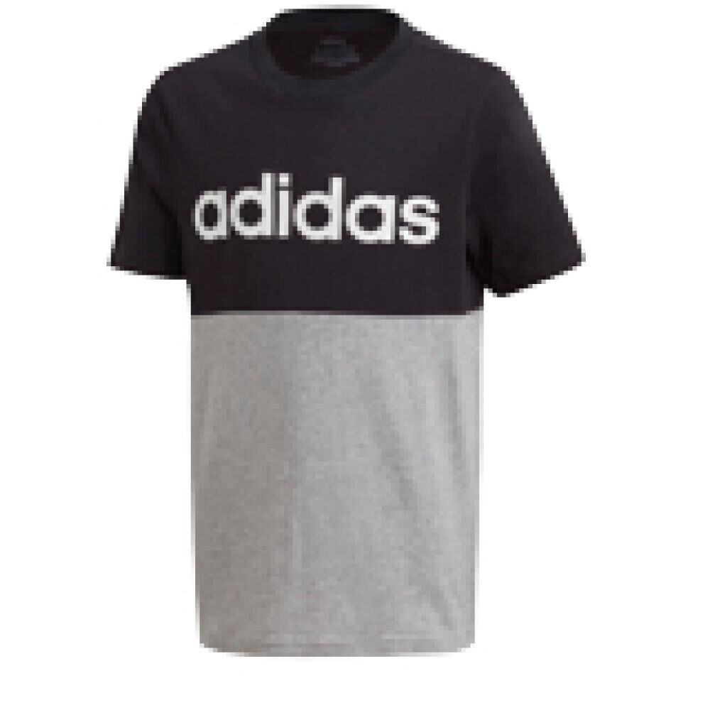 Polera Hombre Adidas Young Boys Linear Colorbock T-shirt image number 0.0