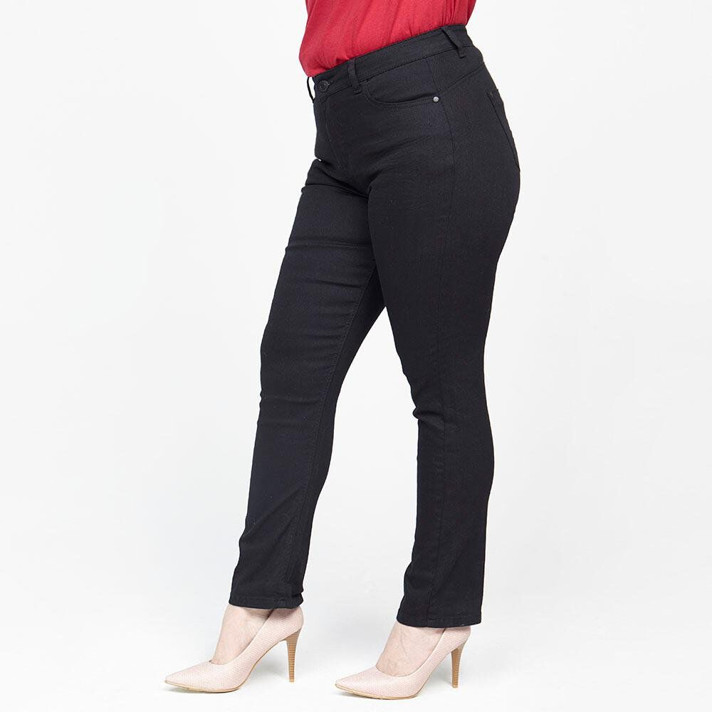 Jeans Mujer Tiro Alto Straight Sexy large image number 0.0