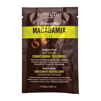 Mascarilla Capilar Repairing Macadamia Marc Anthony / 50 Ml