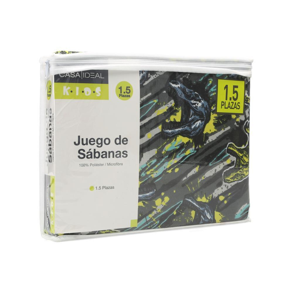 Juego De Sábanas Casaideal Kids Jurasic / 1.5 Plazas image number 3.0