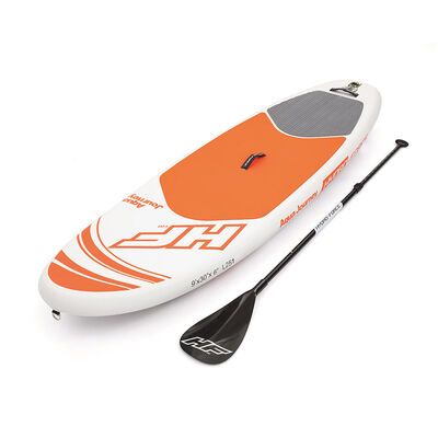 Tabla De Paddle Surf Bestway Aqua Journey Con Remos / Inflable
