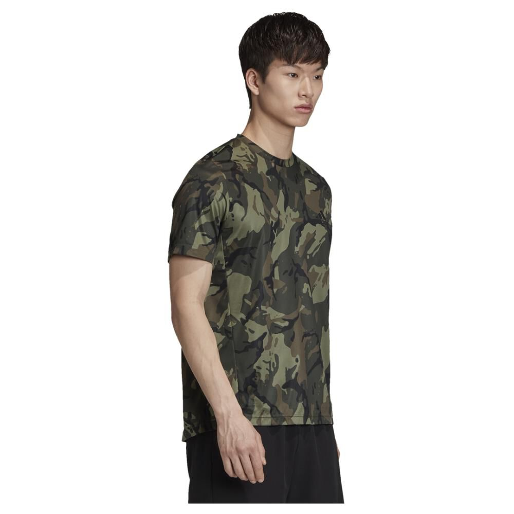 Polera Hombre Adidas Designed To Move image number 2.0