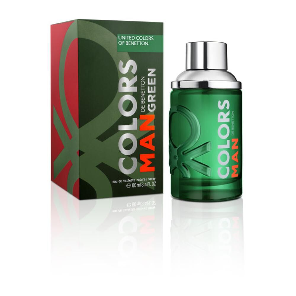 Colors Man Green Edt 60Ml image number 0.0