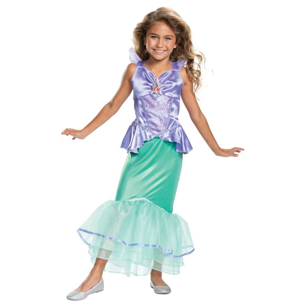 Disfraz Para Niña Princesas Disney Ariel image number 0.0