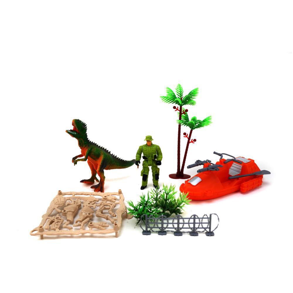 Dino Set Canoa Hitoys image number 1.0