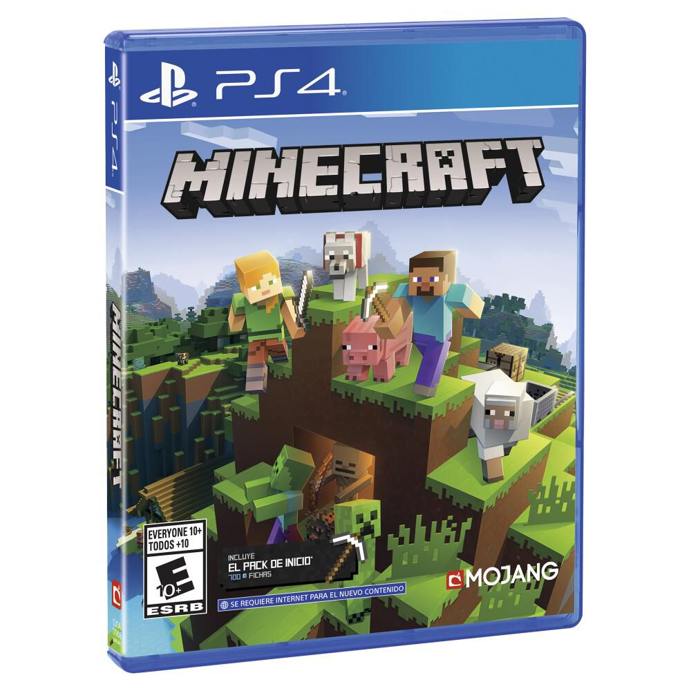 Juego Ps4 Minecraft Starter Collection image number 1.0