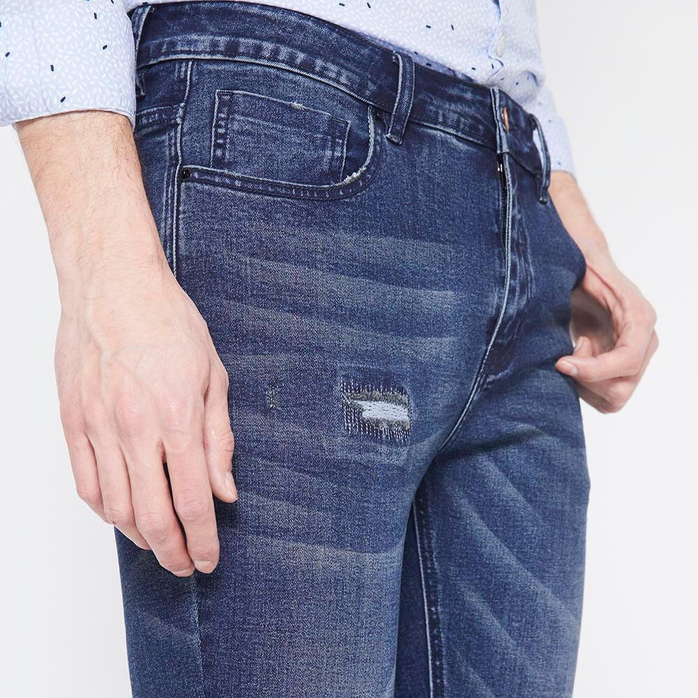 Jeans Slim  Hombre Rolly Go image number 3.0
