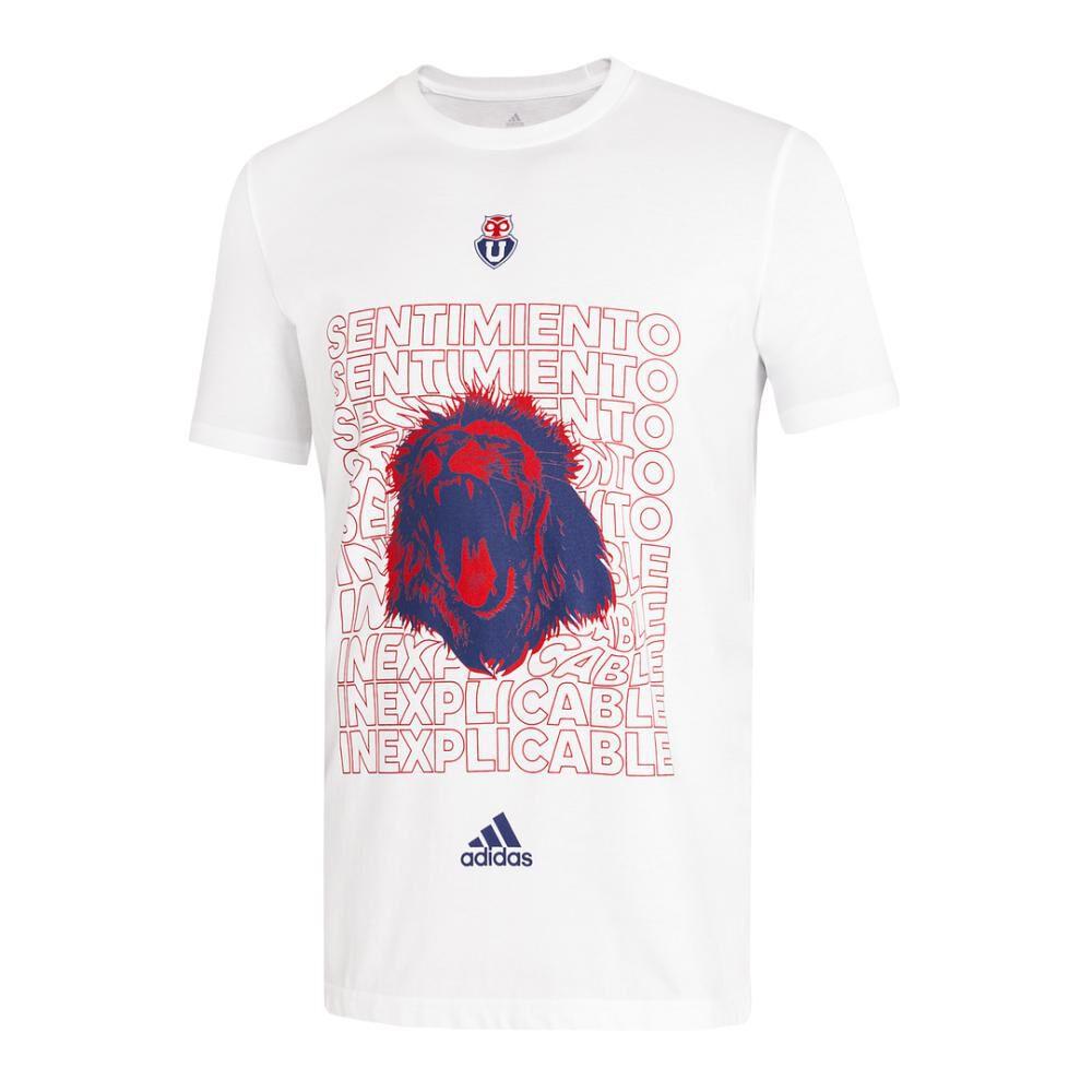 Polera Hombre Adidas-uch Universidad De Chile image number 0.0