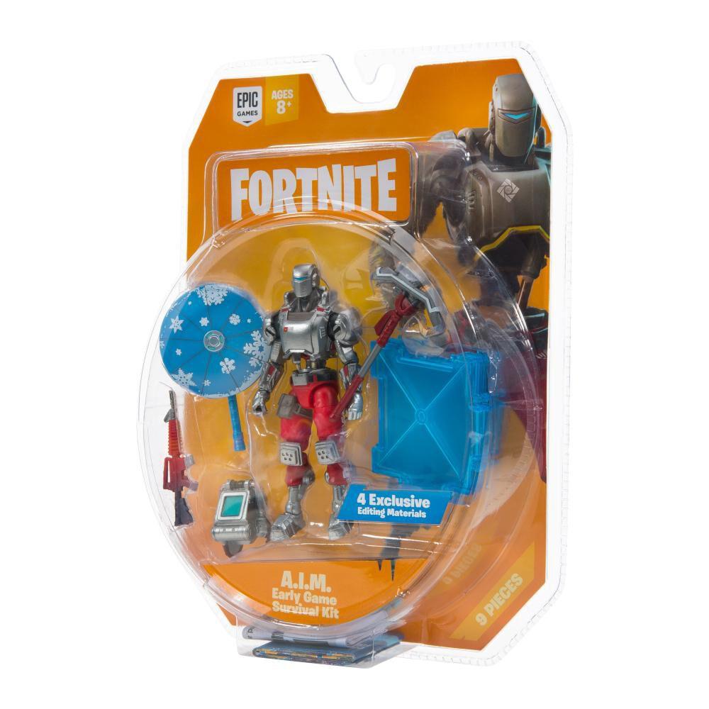 Figura De Accion Fortnite Early Game Survival Kit Con Figura A.I.M S3 image number 6.0